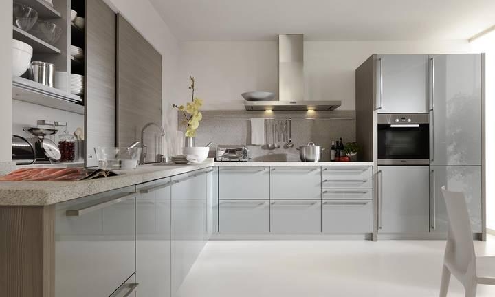 Grijze Keuken Modern : Moderne keukens