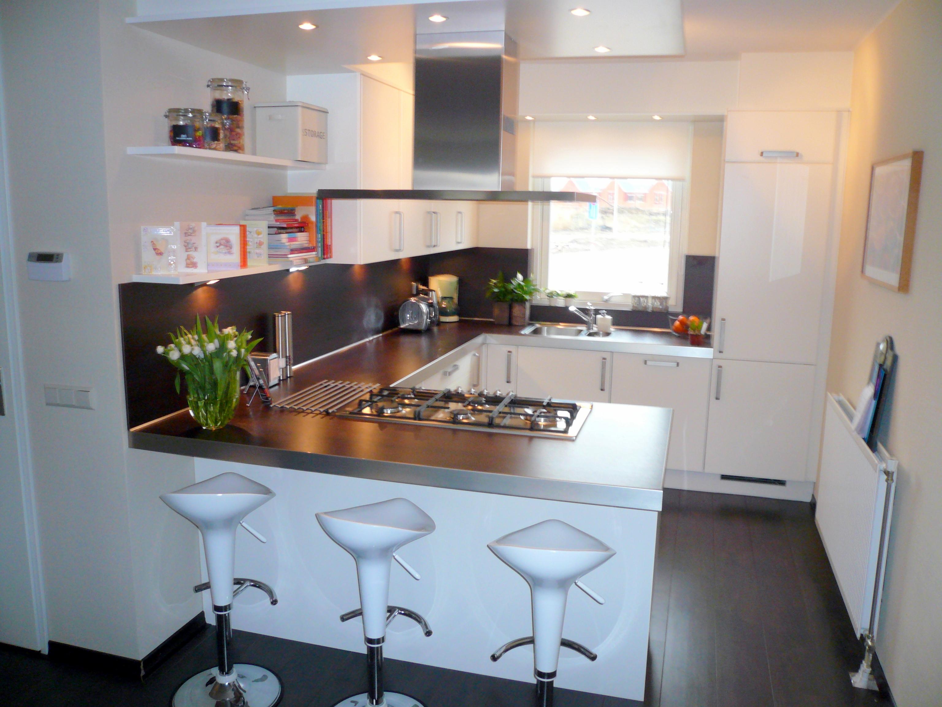 Strak vormgegeven keuken beste inspiratie voor huis ontwerp - Afbeelding van keuken amenagee ...